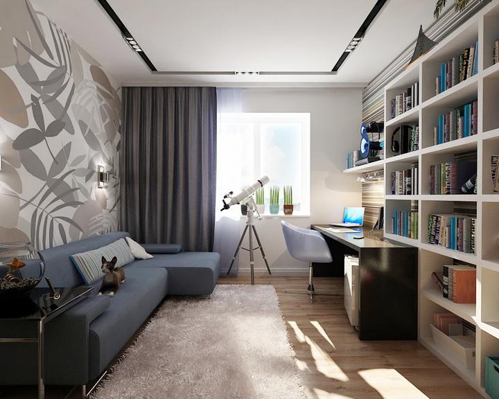 Дизайн интерьер комнаты для мальчика