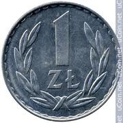 Продам монету,  1 злотый 1977 года