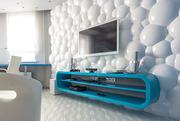 Гипсовая 3D панель «Пузыри»