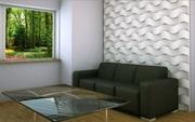 Гипсовая 3D панель «Грубая волна»
