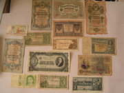 Банкноты и монеты разных стран